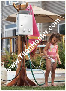 L5 Portable propane gas tankless water heater